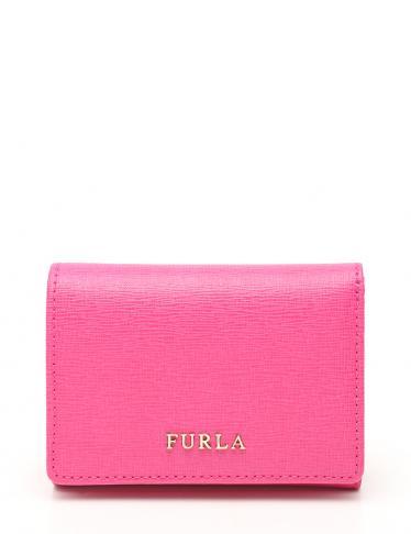 premium selection edb25 05470 FURLA(フルラ) 三つ折り財布 レザー ピンク Wホック|中古ブランド通販のRECLO