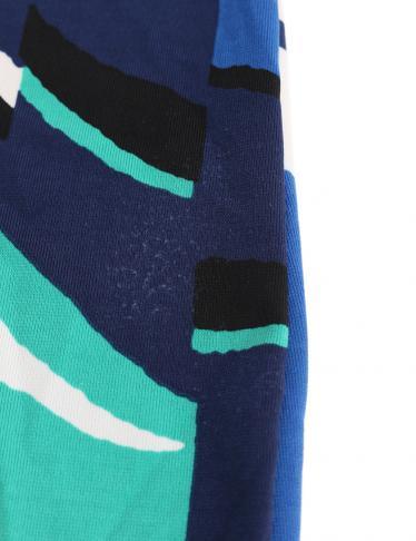 BCBG MAXAZRIA・ワンピース・KAITLIN ワンピース 青 緑 白