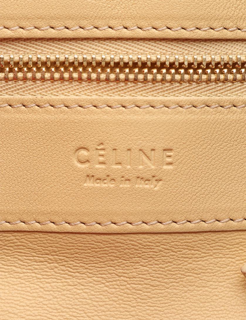 d42357296cf1 CELINE(セリーヌ)CABAS カバス ショッピングトート トートバッグ レザー 赤 黄 バイカラー|中古ブランド通販のRECLO