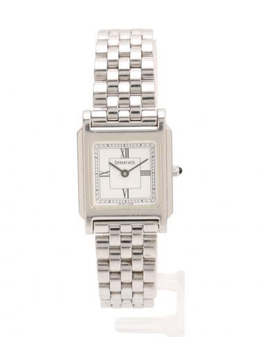 finest selection abf2f 0cbba TIFFANY & Co.(ティファニー)クラシックスクエア 腕時計 レディース クオーツ SS シルバー|中古ブランド通販のRECLO