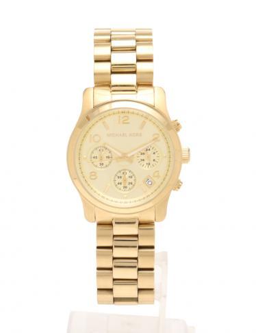 1bc566c73002 MICHAEL KORS(マイケルコース)レディース 腕時計 クオーツ ゴールド クロノグラフ デイト|中古ブランド通販のRECLO