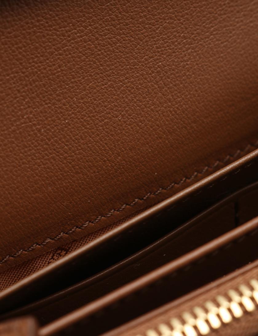 f9270ca899c2 BURBERRY(バーバリー) 二つ折り長財布 チェック柄 キャンバス レザー 茶 ベージュ 赤|中古ブランド通販のRECLO