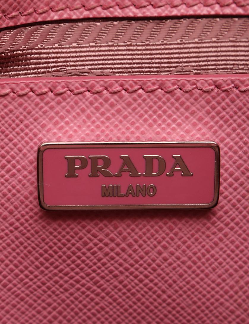 8749f6816fcc PRADA(プラダ)SAFFIANO ハンドバッグ ミニバッグ サフィアーノレザー ピンク 2WAY|中古ブランド通販のRECLO