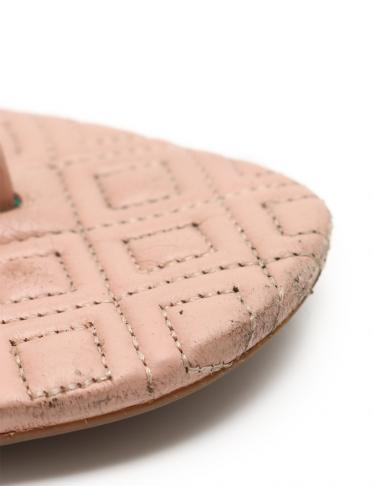 TORY BURCH・シューズ・MARION QUILTED SANDAL サンダル レザー ピンク