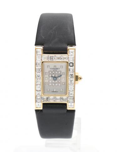 quality design b27a7 200b2 CHAUMET(ショーメ)スティル ドゥ ショーメ レディース 腕時計 クオーツ K18YG イエローゴールド  バケットダイヤモンド 中古ブランド通販のRECLO