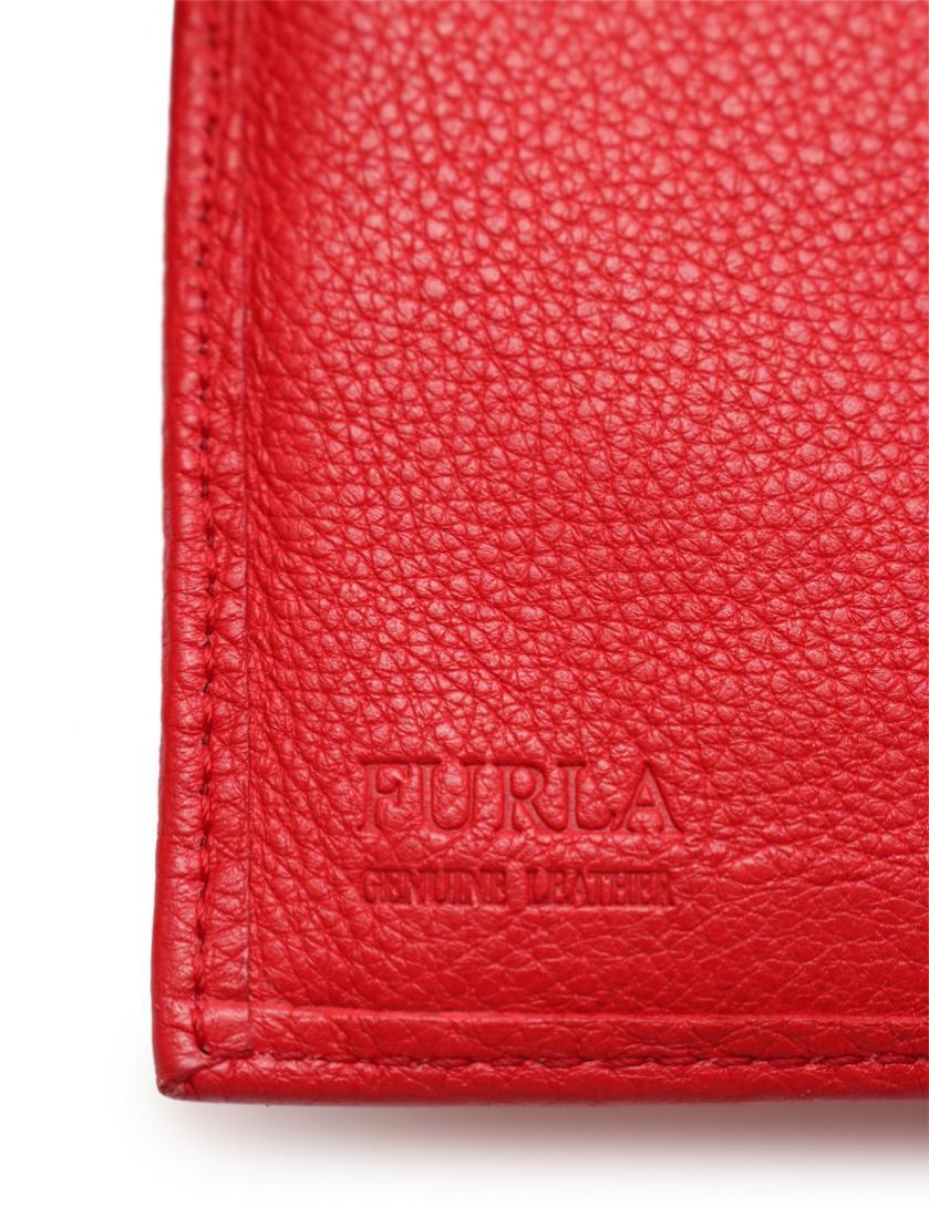 e22386d5d5d4 FURLA(フルラ) 三つ折り財布 レザー 赤|中古ブランド通販のRECLO