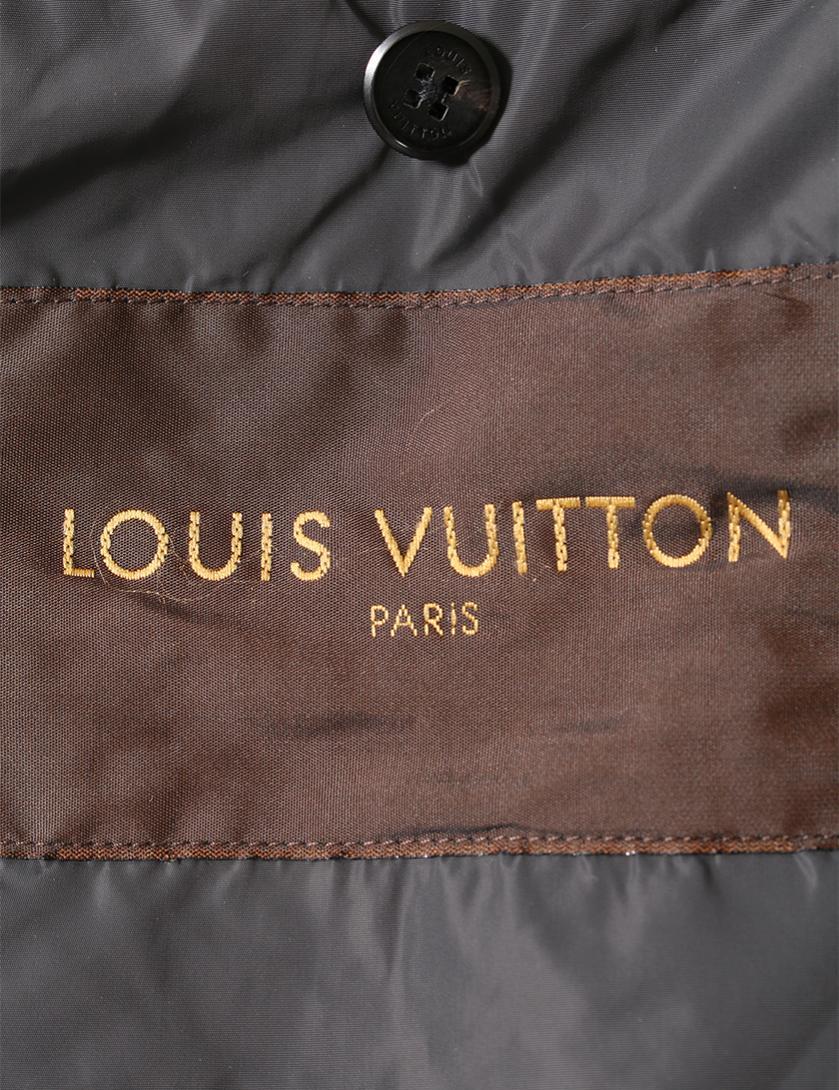 LOUIS VUITTON・アウター・ コート ナイロン 黒