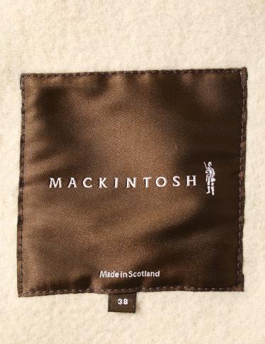 MACKINTOSH・アウター・ Pコート ウール ベージュ